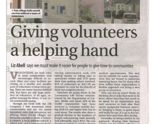 WMN Article Flexible Volunteering October 2019